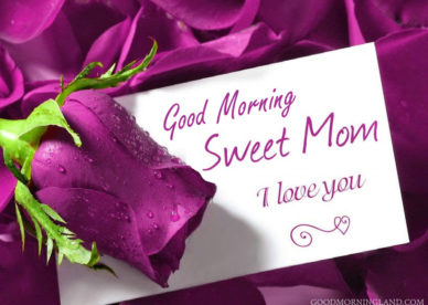Good Morning Mom I Love You - Good Morning Images, Quotes, Wishes, Messages, greetings & eCards